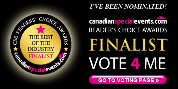 Readers choice award nominee - Favourite Event Planner