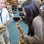 Saxophone School Lesson at Toronto School