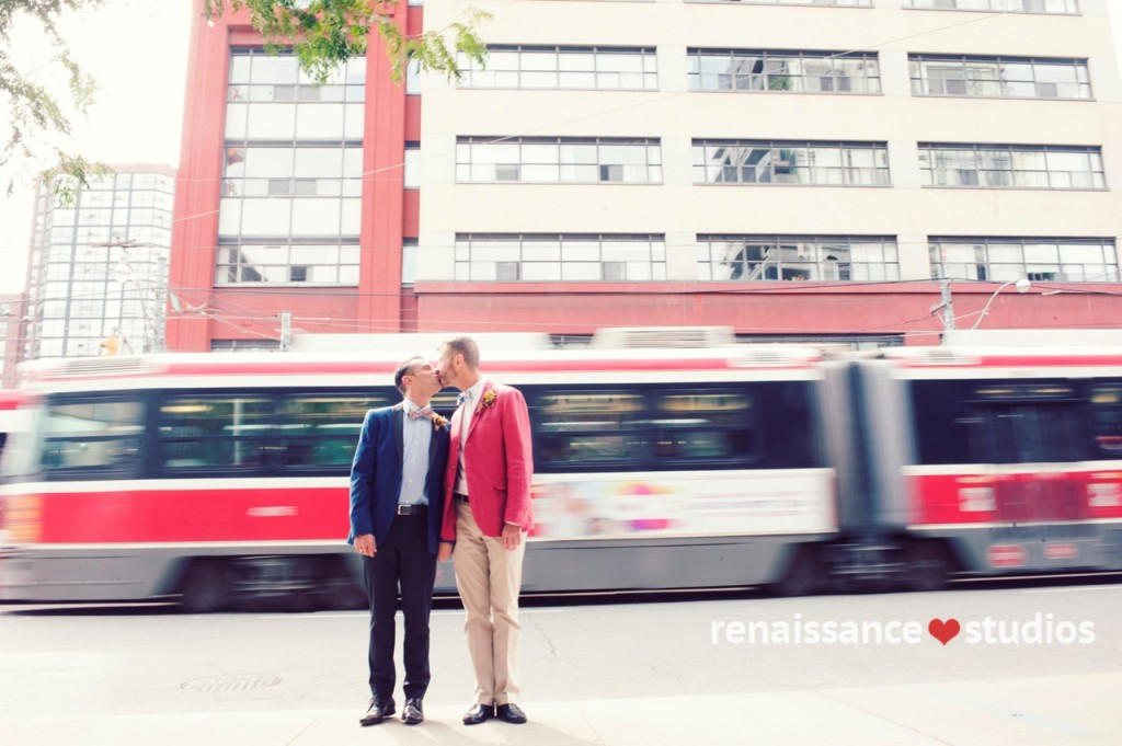 Gay wedding couple toronto