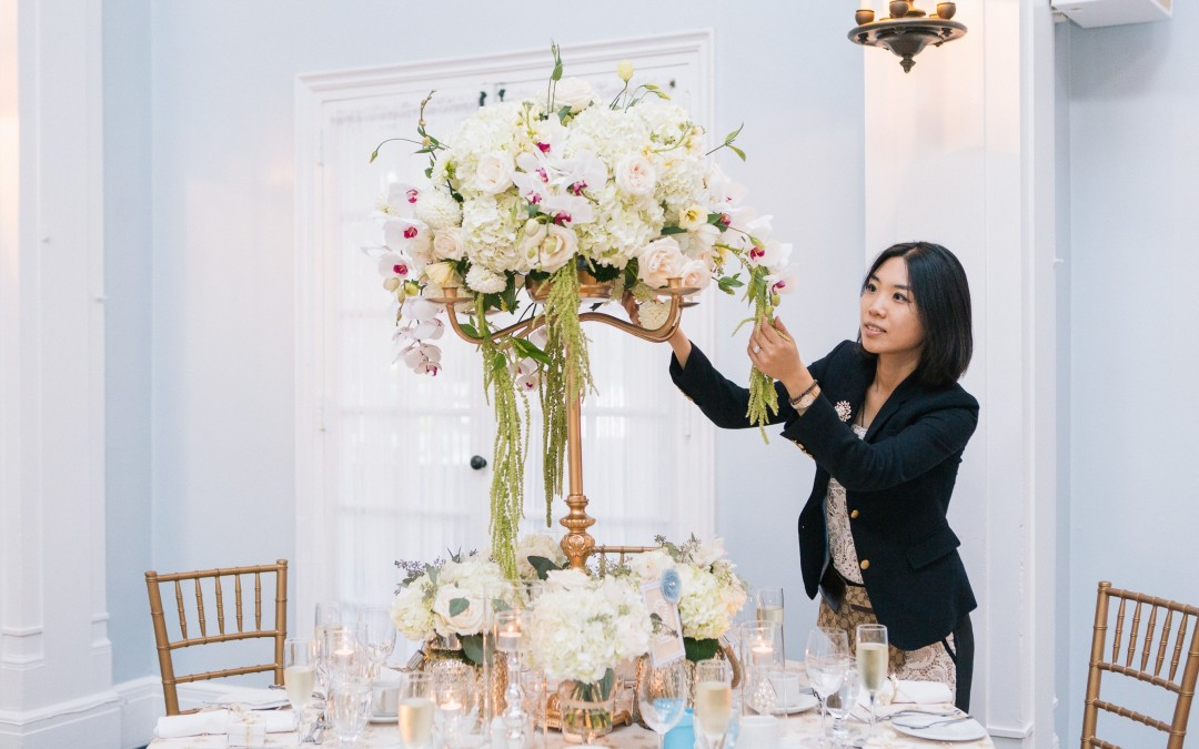 chinese wedding planner, Flora Peng from Fusion Events