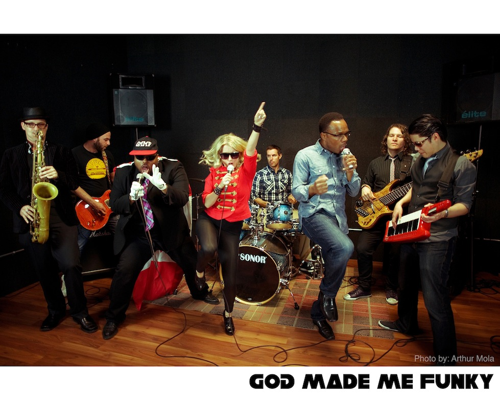 Top Toronto Wedding Band – GOD MADE ME FUNKY