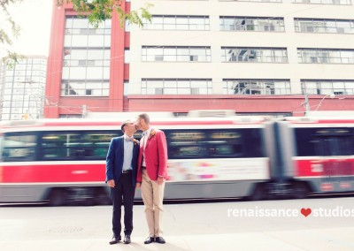 gay wedding photography in Toronto