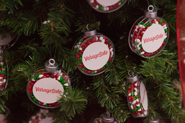 Branded Christmas Tree Ornament Favour