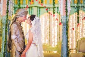 Destination wedding in India - Bride and Groom