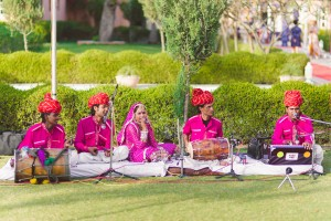 Wedding band at a Henna Ceremony