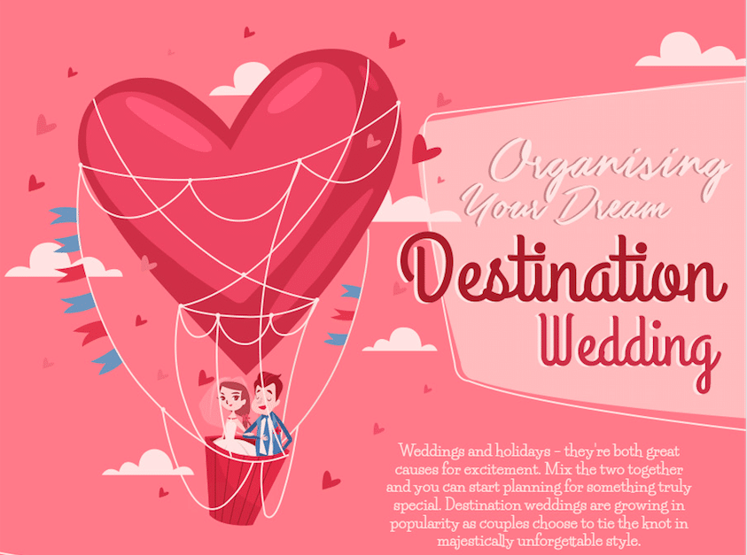 Organizing Your Dream Destination Wedding