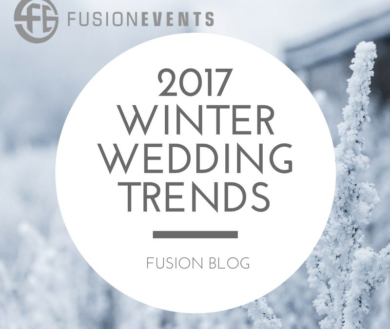 Top 5 Winter Wedding Trends