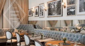 Colette Grand Cafe located in the Thompson Hotel Toronto