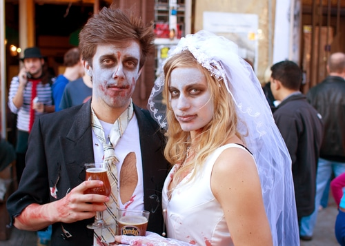 Is Halloween More Your Style? Skip Traditional and Have the Spooky Wedding of Your Dreams.